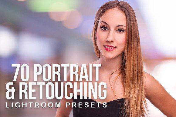 70 Portrait & Retouching Pr-Graphicriver中文最全的素材分享平台
