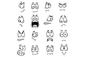 Face expressions and emotions
