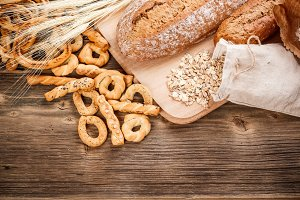 Tasty rye breads