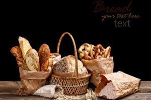 Bread still life