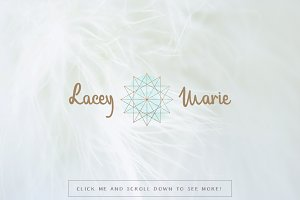 Lacey Marie Premade Logo