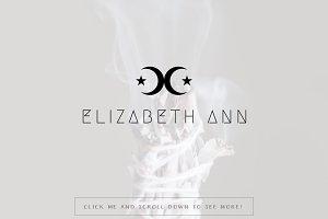 Elizabeth Ann Premade Logo