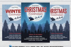 Christmas /Winter Celebration Flyer