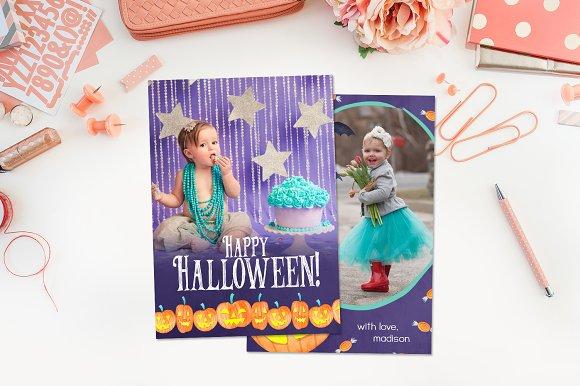Halloween Card | Pumpkin Candy