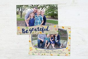 Thanksgiving Card | In The Garden