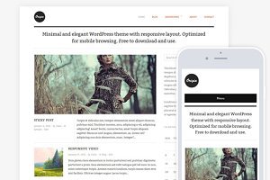 Origin / Clean Blog & Magazine Theme