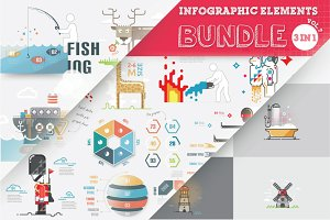 Vector Infographic Bundle