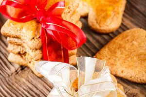 Handmade gingerbread cookies
