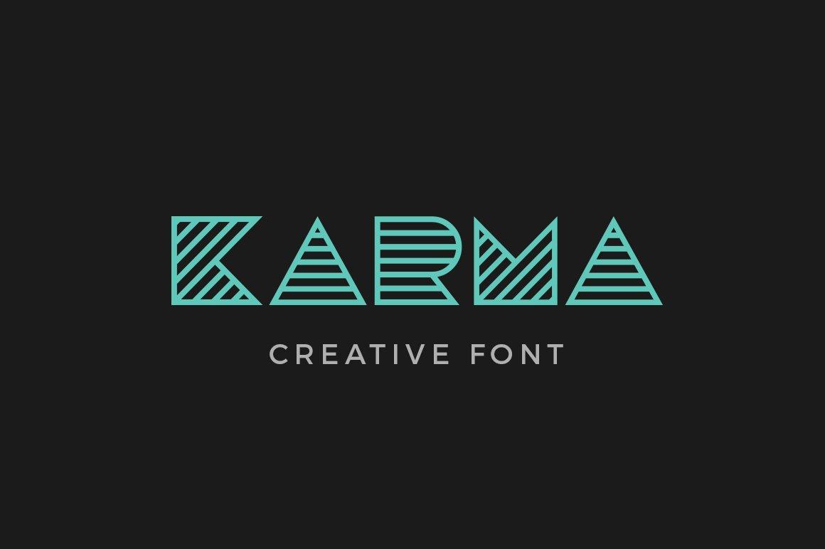 Karma Font Fonts Creative Market