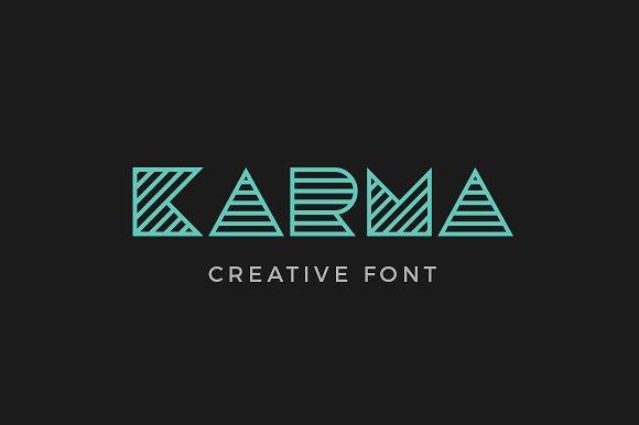 Karma font fonts creative market stopboris Image collections