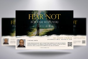 Fear Not Church Flyer