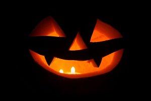 Halloween pumpkin. Jack-o-lantern