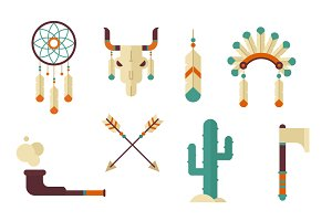 Tribal Vector Clip Art Pack
