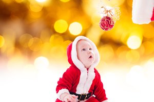 The Santa boy
