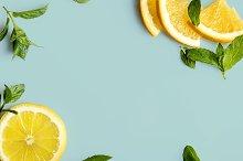 citrus and mint