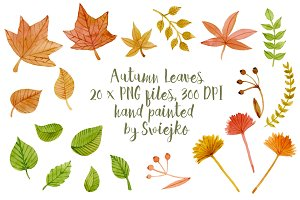 Autumn Leaves, clipart