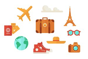 Travel Vector Clip Art