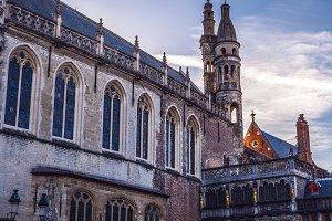 medieval Brugge.