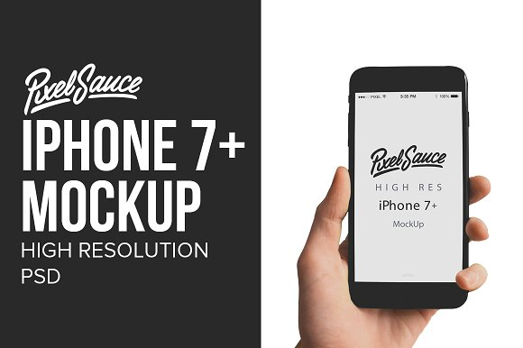 Download iPhone 7+ Mock Up - High Resolution