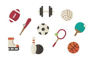 Sports Vector Clip Art