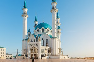 Kul Sharif mosque. Kazan city.