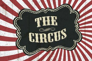 Classical circus background