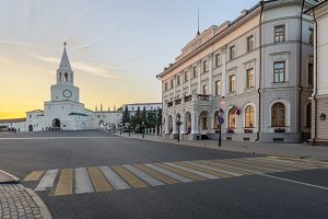 Kazan Kremlin. Kazan city