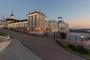 Kazan Kremlin. Kazan city.