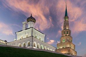 Suyumbike tower. Kazan city