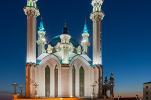 Kul Sharif mosque. Kazan city