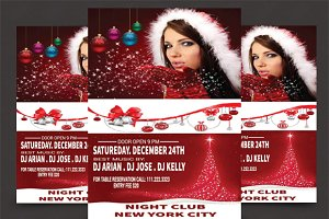 Christmas Party - PSD Flyer