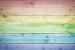 Multicolored wood texture background