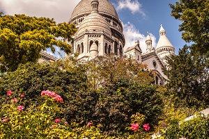 Basilica Sacre Coeur in Montmartre