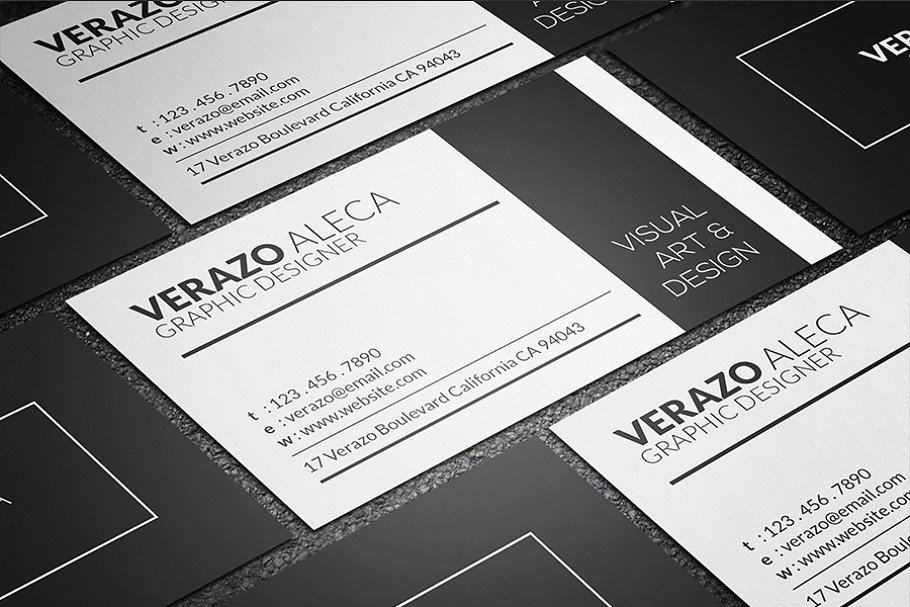 Clean Individual Business Card
