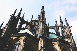 Gothic Church in Prague