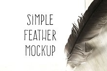 Simple Mockup Feather