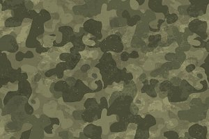 Camouflage seamless textured pattern