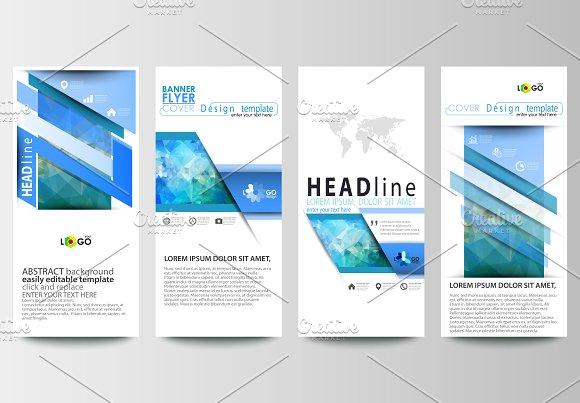 vertical flyers v 1 flyer templates creative market