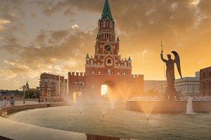 Yoshkar Ola city, Mari El, Russia.