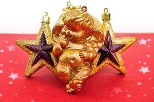 Angel Christmas Stars