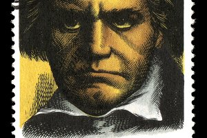 Beethoven Postage Stamp