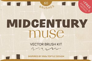 Midcentury Muse Brush Kit + BONUS