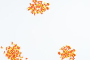 Fall Candy Corn Stock Image