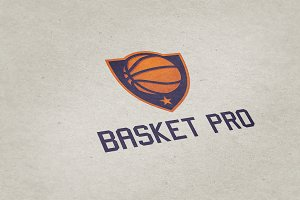 Basket Pro Logo Template