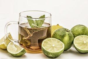 Tea and limes