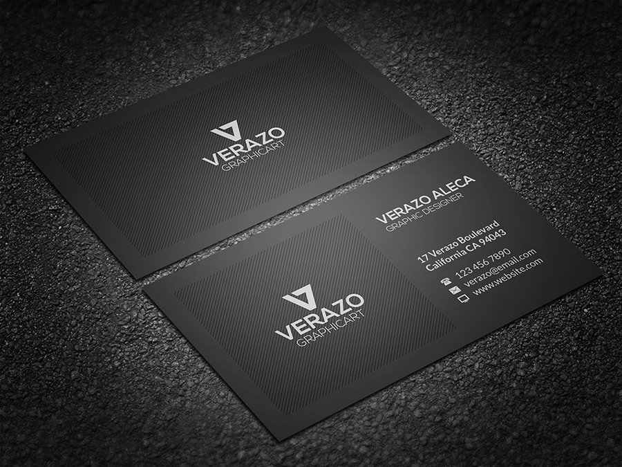 Clean Corporate Business Card ~ Business Card Templates ~ Creative ...