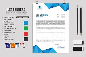 Letterhead stationery templates creative market 5 letterhead by afzaalgraphics in templates spiritdancerdesigns Choice Image