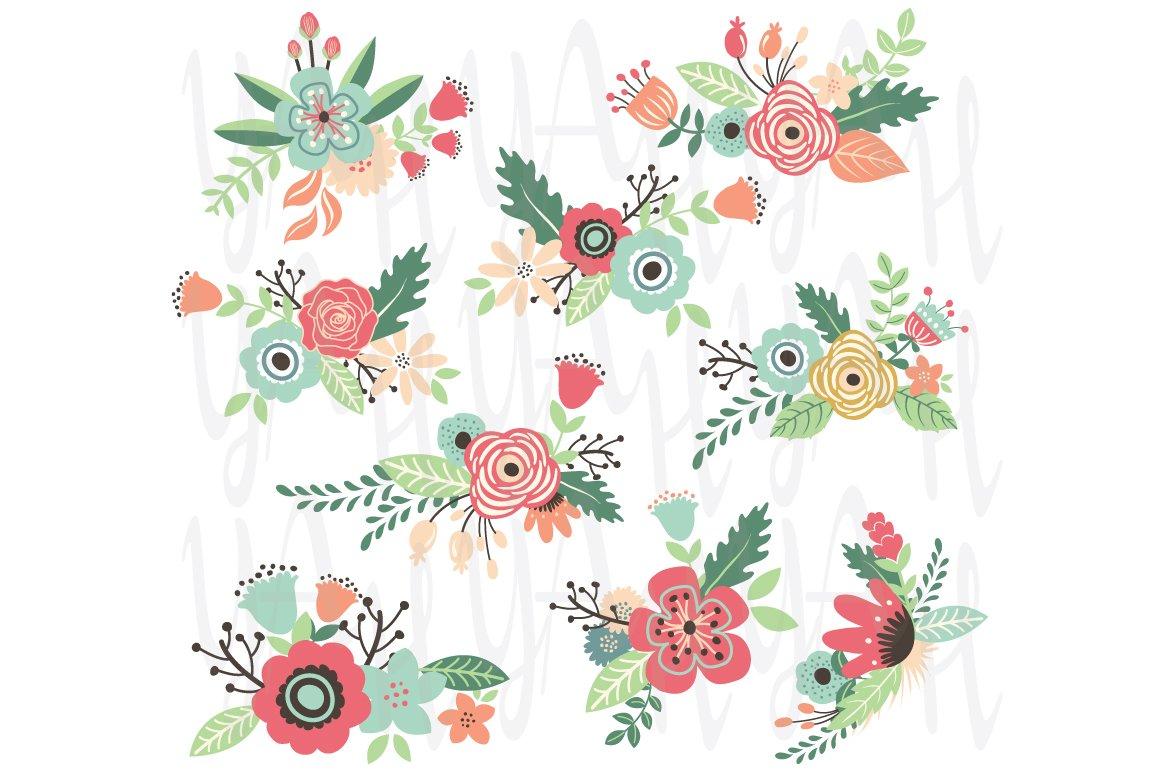 Wedding Vintage Flower ~ Illustrations ~ Creative Market