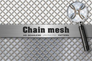 Chain Mesh Seamless HD Texture