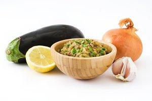 Eggplant baba ganoush